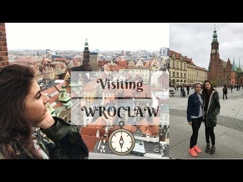 Visiting the beautiful Wroclaw!