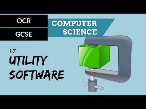 GCSE 1.7 Utility system software
