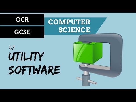 OCR GCSE 1.7 Utility System Software