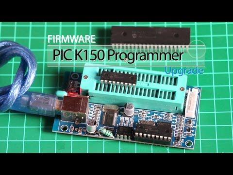 Firmware PIC K150 Programmer Upgrade