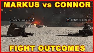 Detroit Become Human: Markus vs Connor Fight Outcomes thumbnail