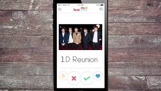 #LifeSwipe with Liam Payne | Liam Swipes Right on a 1D Reunion! heatworld