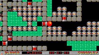 Supaplex: Original Levels: Level 107: Find The Way!