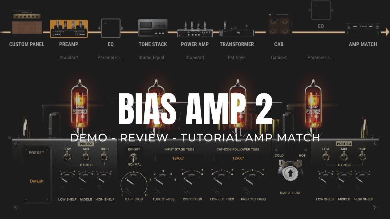 bias amp 2 demo y review espa ol tutorial amp match clona el sonido de cualquier ampli youtube. Black Bedroom Furniture Sets. Home Design Ideas