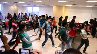 Flash Mob 2014 at IBM Hyderabad