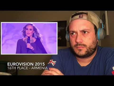 ESC 2015 Reaction Series - 16th Place - ARMENIA!