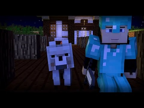 "♪ ""Zombies"" - A Minecraft Parody of Blame By Calvin Harris (Music Video)"