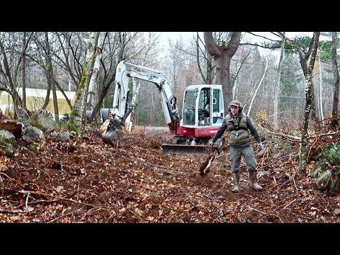 Building Our Farm ~ Rebuilding an Old Livestock Lane