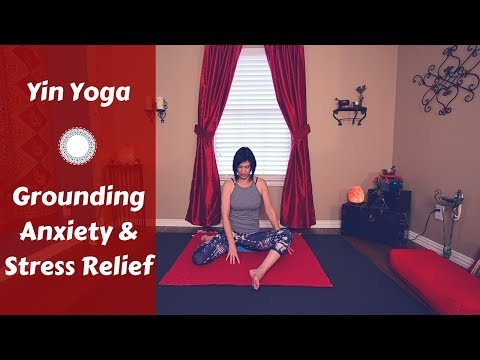 Yin Yoga for Grounding {45 mins} | Yoga for Anxiety, Frustration & Stress