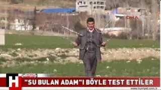 İŞTE  SU BULAN ADAM IN YENİ YAPTIKLARI  Hürriyet TV Haber