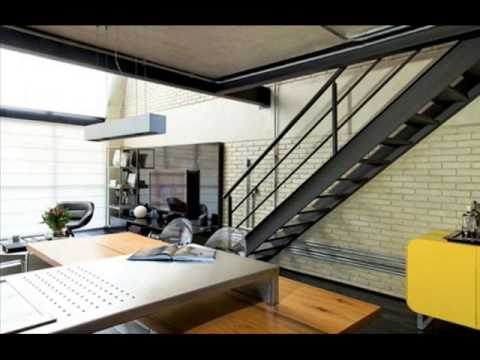 Great modern loft style ideas youtube for Ideas for closing off a loft