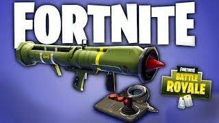 FORTNITE BATTLE ROYALE GUIDED MISSILE GAMEPLAY TRAILER - 1ST PERSON MODE SPECIAL EVENT & NEW SKIN