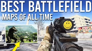 Top 10 Battlefield Maps of ALL TIME!