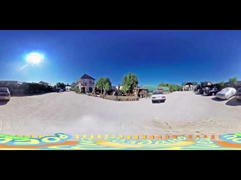 База отдыха Перлина Карпат в Кирилловке на Федотовой косе poedu.com.ua 360-video