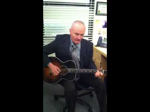 Musical musings on the set of The Office
