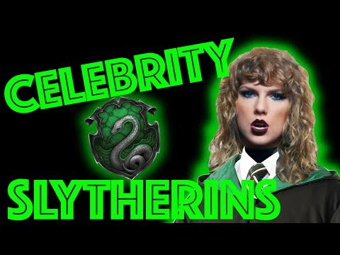 Slytherin Celebrities Sorted by Pottermore!