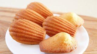 How to Make Lemon Madeleine  Easy Recipe