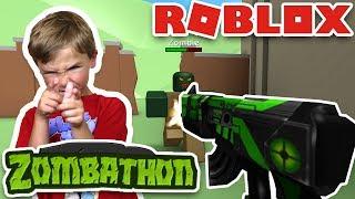 THE NEW ZOMBIE RUSH! (ROBLOX ZOMBATHON)
