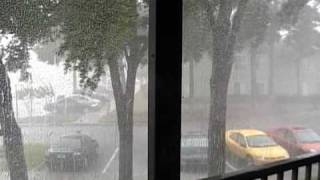 Intense Florida Rain Storm