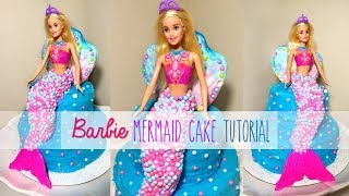 how to make an ariel cake