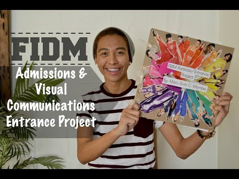 Fidm Admissions Visual Communications Entrance Project Youtube