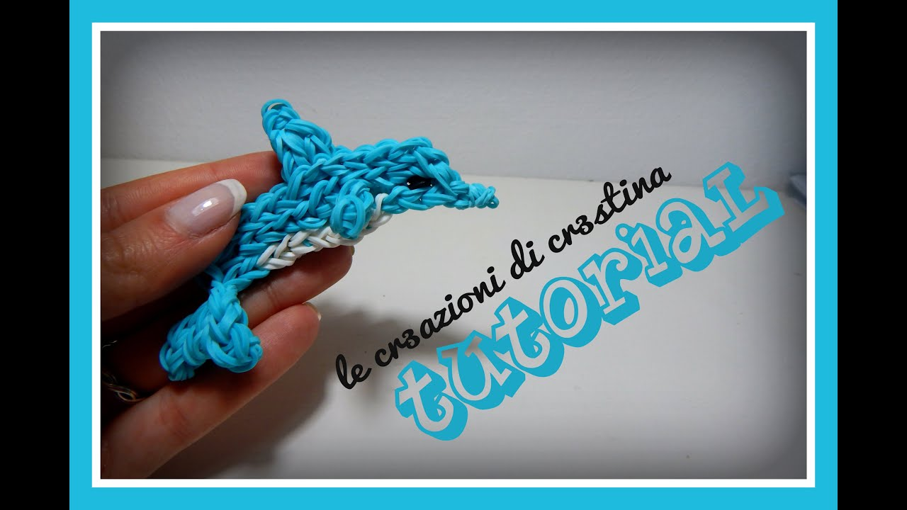 Rainbow loom dolphin - photo#30