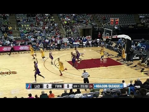 Shawne Williams scores 16 pts vs. Fort Wayne Mad Ants ,4/4/2014