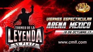 LUCHA LIBRE VIERNES ESPECTACULAR DE ARENA MEXICO 13 DE OCTUBRE DEL 2017 FUNCION COMPLETA