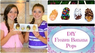 🍌 DIY Frozen Banana Pops | Cool Summer Treats 🍌 Thumbnail