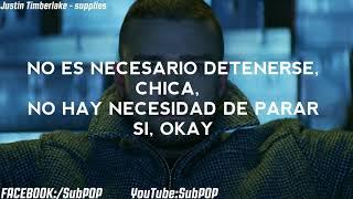 Justin Timberlake - Supplies (Subtitulos Español)