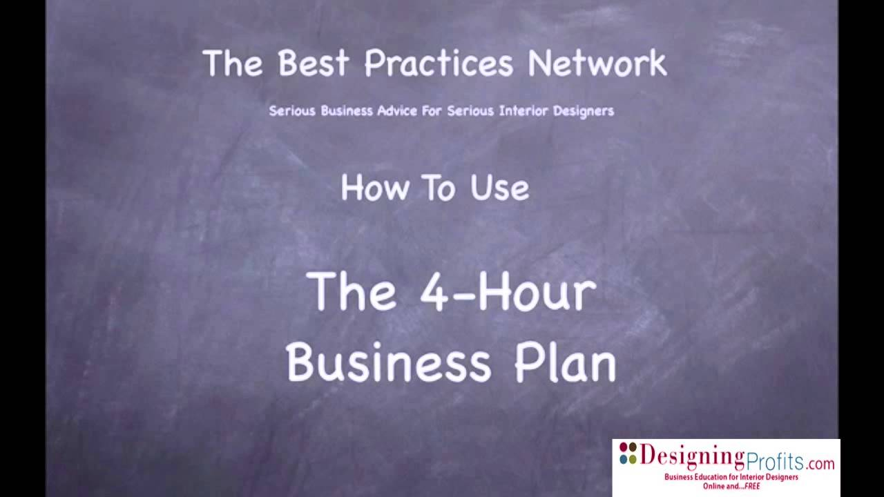 Interior Decoration Business Plan The 4 Hour Business Plan For Interior Designers Part 1 Of 6