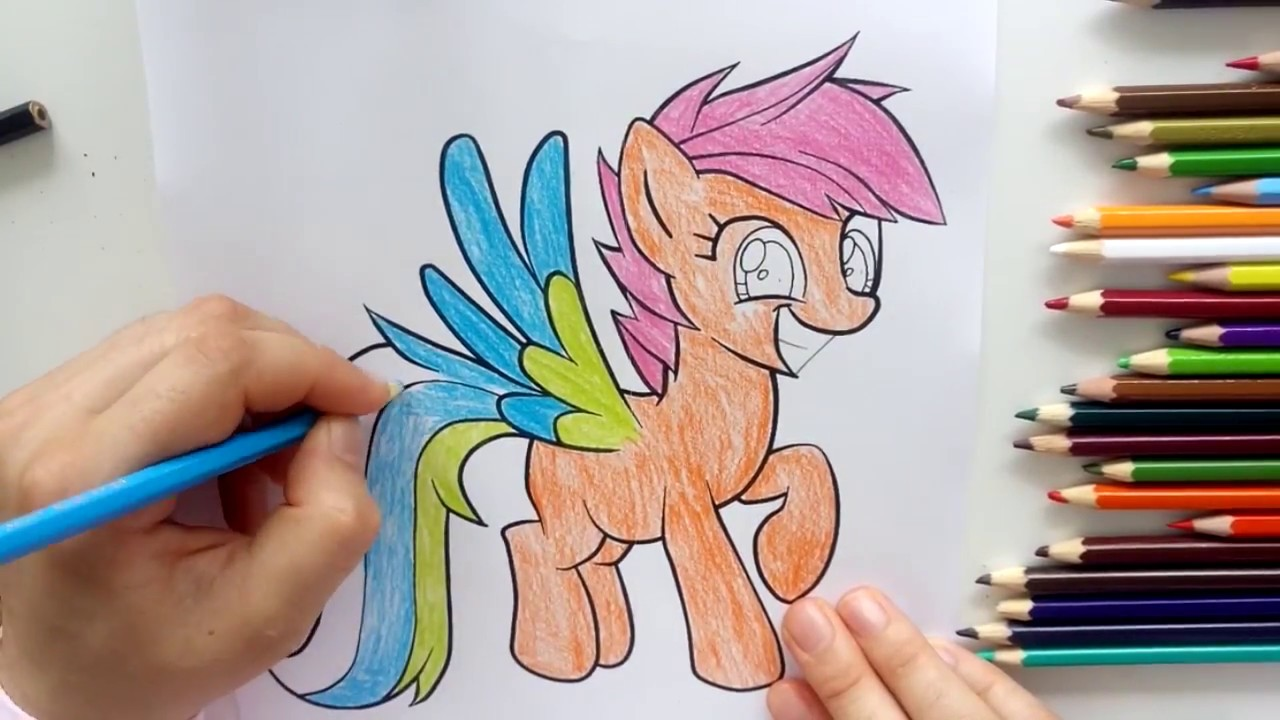 Prenses Pony Boyama Oyunu My Little Pony Boyama Oyunu Youtube