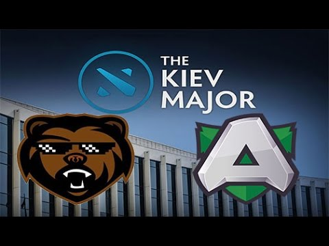 Bears vs Alliance Game 2 Live - EU LB Finals Main Qualifiers bo3 - Kiev Major 2017
