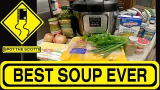 Instant Pot White Chicken Chili Recipe (Clean Eating & Gluten Free in an RV!) #171