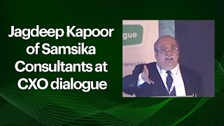 Jagdeep Kapoor of Samsika Consultants at