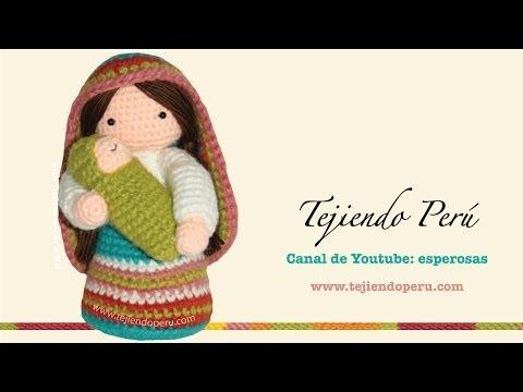 480 x 360 jpeg 24kB, Virgen María y Niño Jesús tejidos a crochet