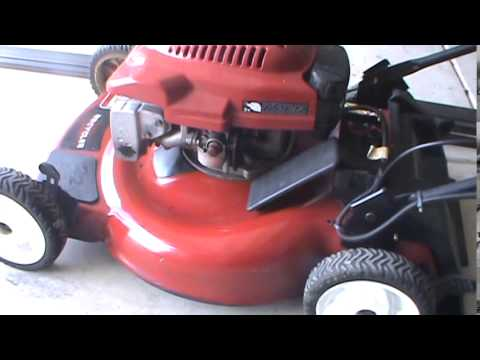 Electric Start Toro Mower Repair