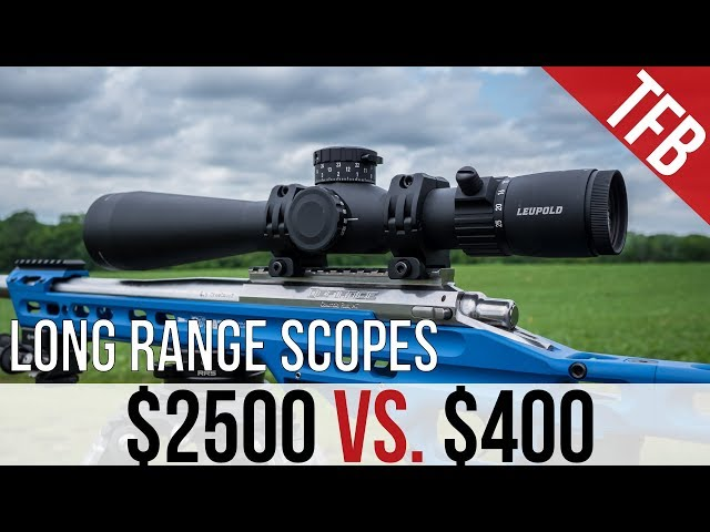 Long Range Scope Test - $2500 VS. $400