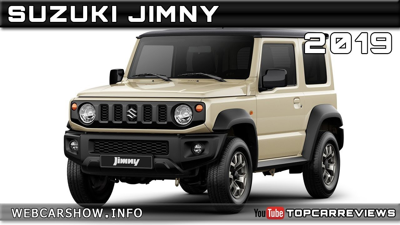 2019 suzuki jimny review rendered price specs release date youtube. Black Bedroom Furniture Sets. Home Design Ideas