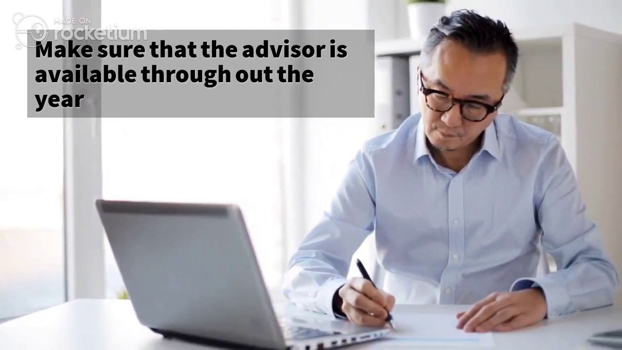 Things you should consider while choosing a tax advisor