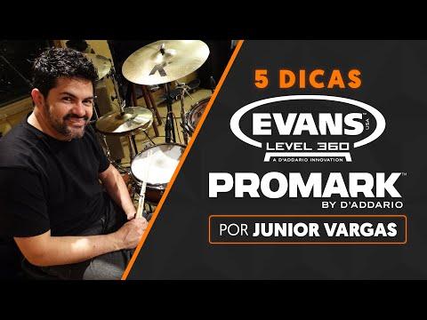 5 DICAS por JUNIOR VARGAS | Evans + Promark