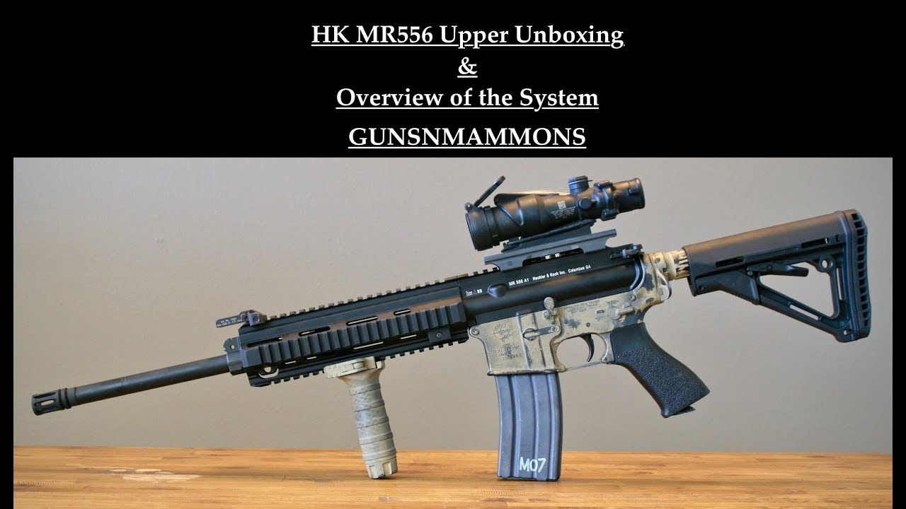 HK MR556 Upper Unboxing & Overview of the HK Piston System