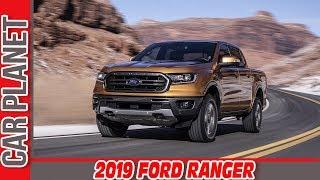 видео В Детройте рассекретили новый Ford Ranger 2019
