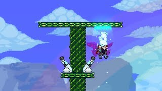 Terraria, moving at 180mph!