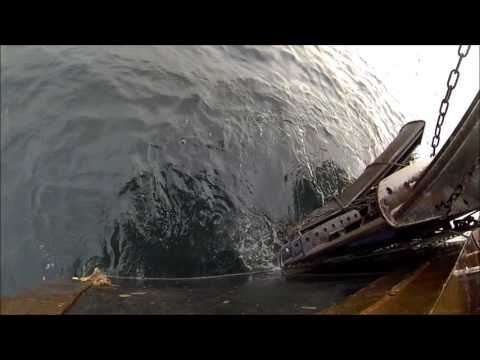Tough Day Shrimp Fishing – Trawl Hooked On The Bottom