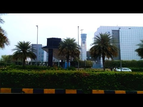 Driving to Indira Gandhi International Airport I New Delhi Airport - Terminal 3