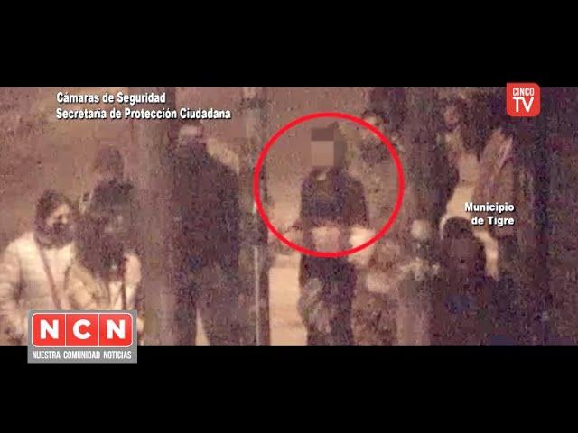 CINCO TV - Dramática persecución y choque terminó con la detención de una banda de pungas en Tigre