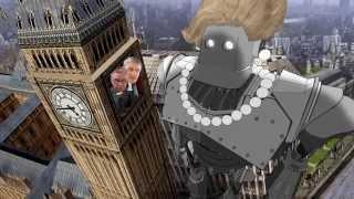 A Dama Gigante de Ferro - Paródia Mad
