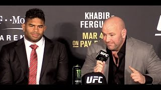 Alistair Overeem was Sick Before the Fight and Still Broke Mark Hunt's Leg