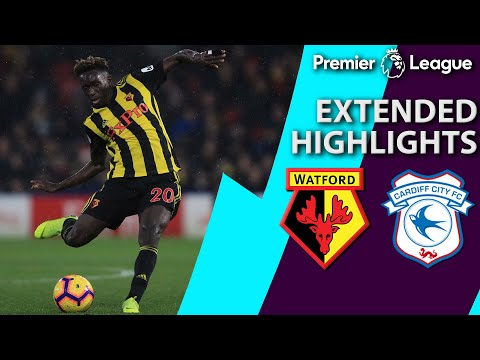 Watford v. Cardiff City | PREMIER LEAGUE EXTENDED HIGHLIGHTS | 12/15/18 | NBC Sports